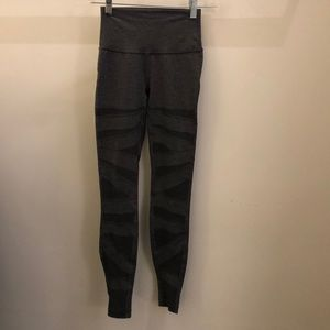 lululemon athletica Pants - Lululemon titanium gray mesh legging, sz 4, 71048
